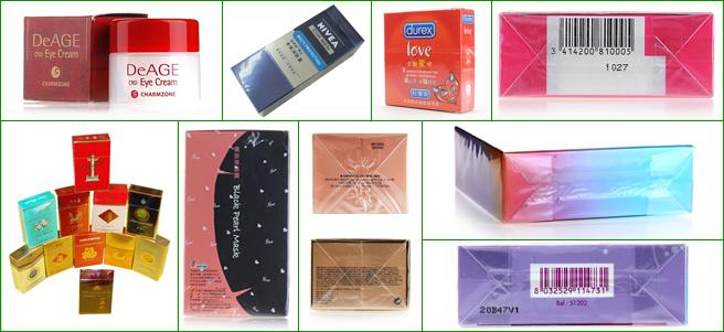三维膜包装机应用产品