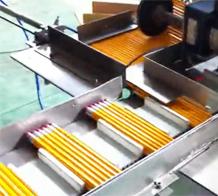 万申铅笔威廉希尔手机客户端下载机——铅笔包装机案例
