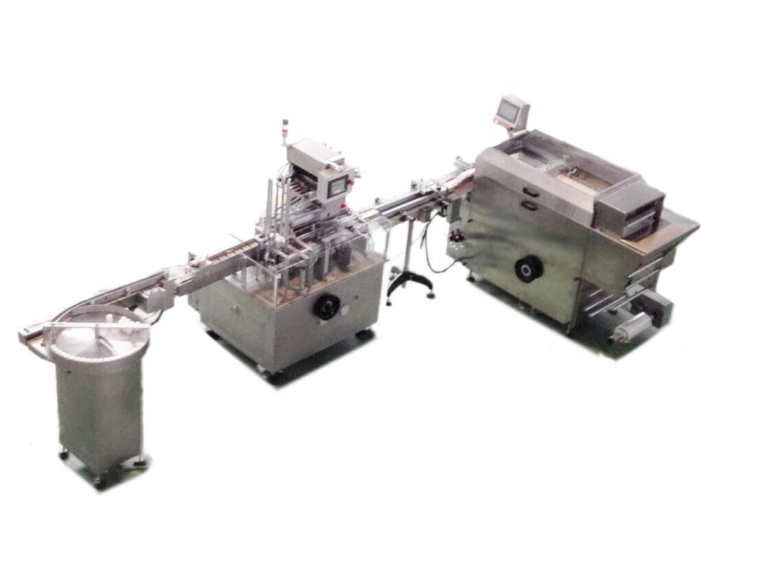 HDZ100瓶型威廉希尔公司机与 WS400 三维包装机 连线方案