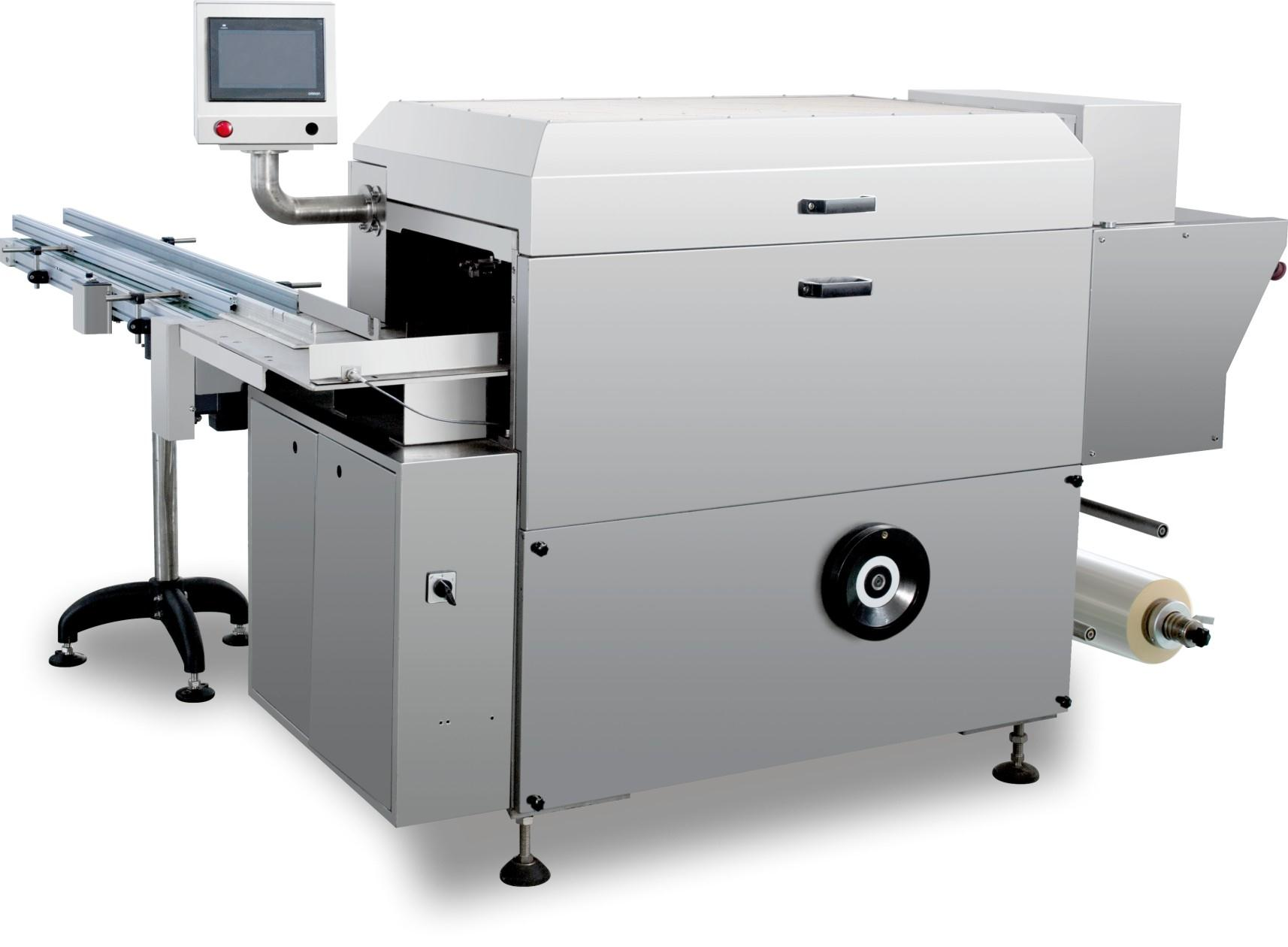 WS400全自动透明膜包装机