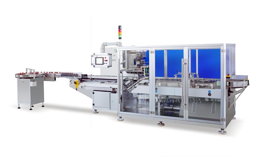 HDZL-260P 瓶装自动装盒机